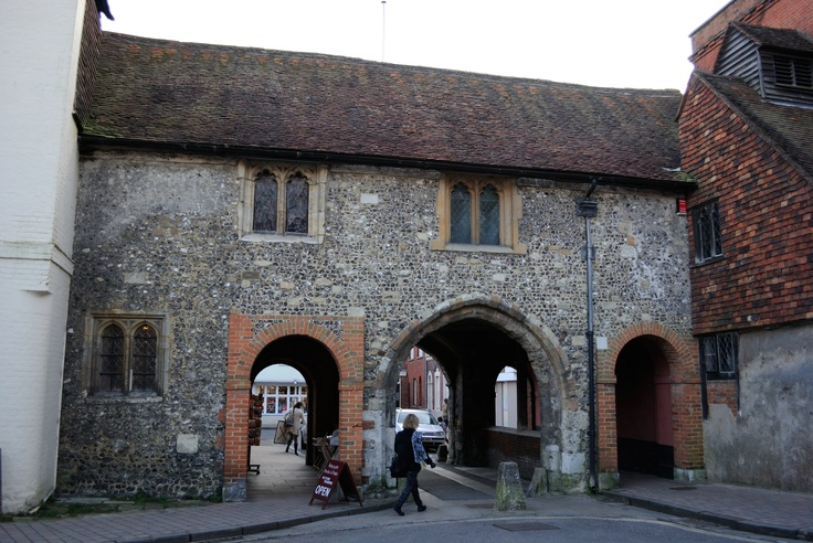 St Swithuns upon Kingsgate, Winchester.