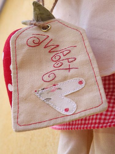 strawberry red Tilda doll | Flickr - Photo Sharing! country kitty