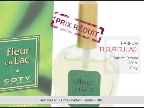 Parfum Femme Fleur Du Lac de Coty - 30 ml  Créé en 1942, c'est un parfum Floral pour femme de la Maison de Coty qui a commencé à créer des parfums en 1904. Ce parfum élégant de bo...