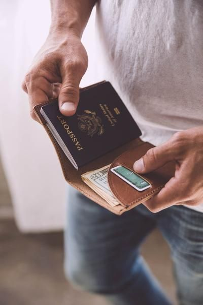 For any traveler that braves new lands, your passport is your best friend. Take care of that friend in our Passport Wallet. Securely hold your passport, cash, cards, and any travel documents you may n