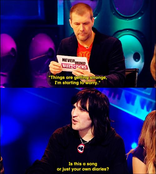 Rhod Gilbert & Noel Fielding - Never Mind the Buzzcocks