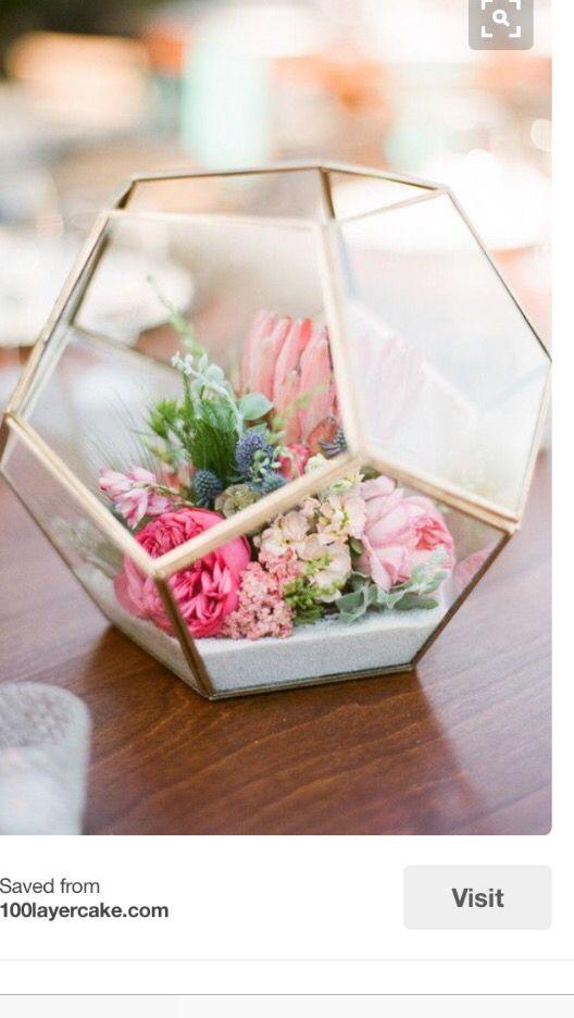 Centerpiece idea for Jessica's wedding
