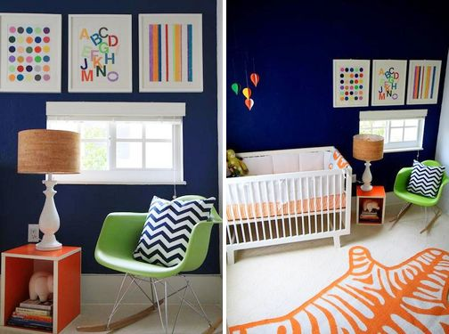 So much I love about this nurseryWall Colors, Baby Boys Nurseries, Blue Green, Kids Room Colors, Boy Rooms, Colors Palettes, Boys Room, Bold Colors, Baby Boy Nurseries