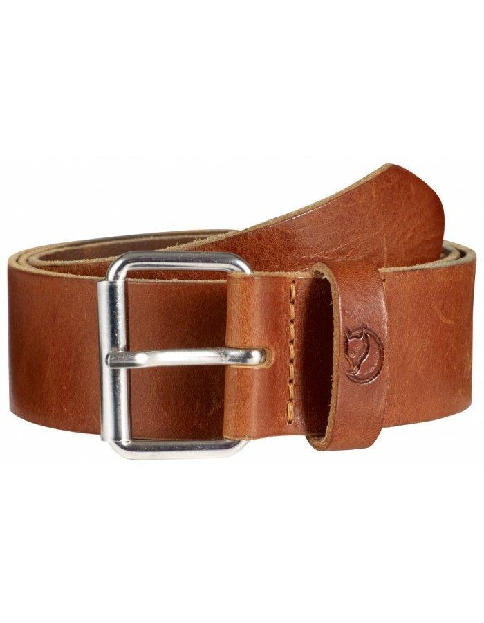 Fjellreven Sarek Belt 4 cm. - Leather Cognac