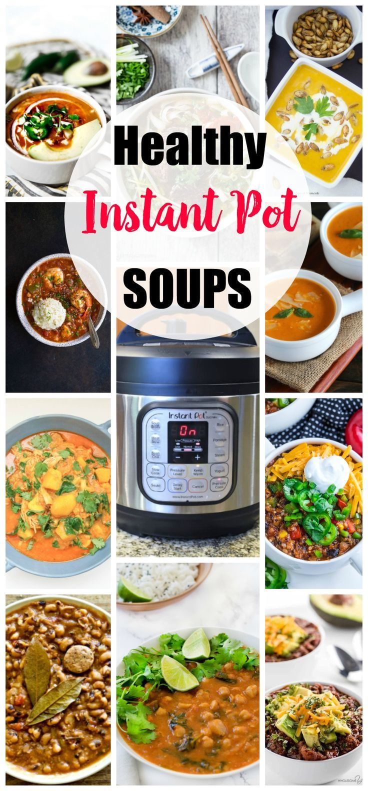 Healthy Instant Pot Recipes -Soups recipes http://eatdojo.com/healthy-soup-recipes-for-weight-loss-easy-yummy/