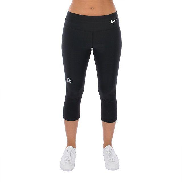 NFL Dallas Cowboys Nike Womens Dri-Fit Capri at shop.dallascowboys.com