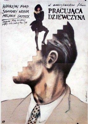Working Girl Polish Film Posters: Andrzej Pagowski