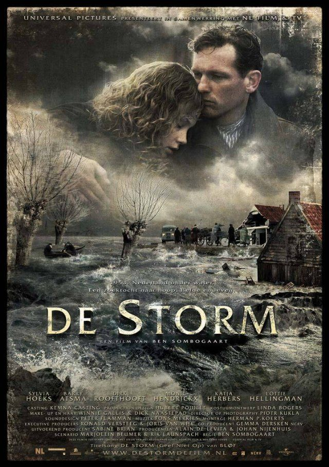 Firtinaya Dogru - The Storm - 2009 - DVDRip Film Afis Movie Poster