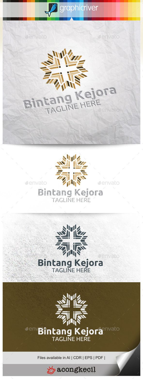 Bintang Kejora V.2 — Vector EPS #marketing #multimedia • Available here → https://graphicriver.net/item/bintang-kejora-v2/11453434?ref=pxcr