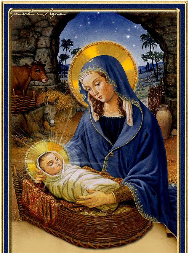 рождественские картинки с младенцем вот юге