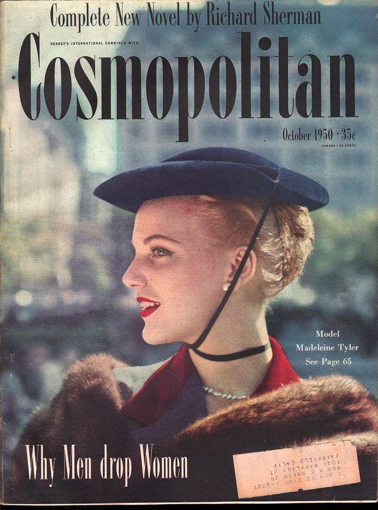 Cosmopolitan October 1950 - Ephemera Forever
