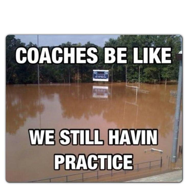 Soccer I would say we could still have practice my coach and teammates not so much