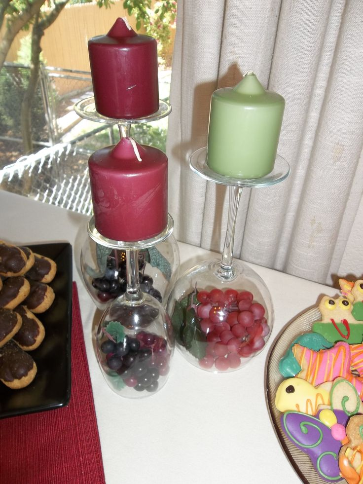 The 15 best images about bridal shower on pinterest sangria wine centerpiece for wine themed bridal shower junglespirit Image collections