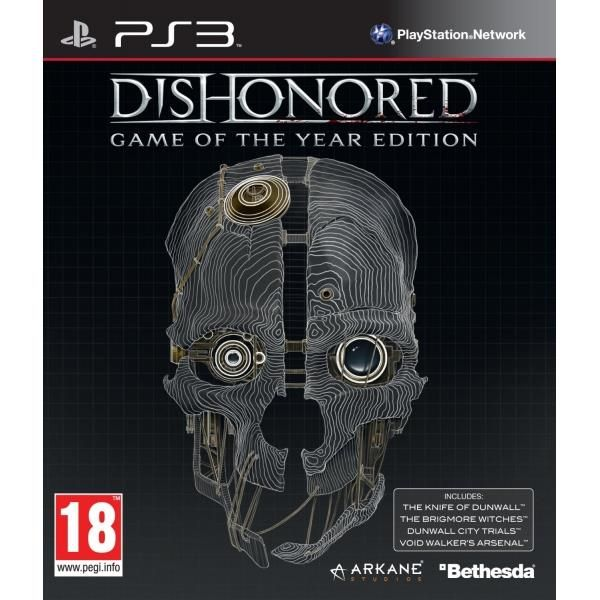 Dishonored Game Of The Year (GOTY) Game PS3 | http://gamesactions.com shares #new #latest #videogames #games for #pc #psp #ps3 #wii #xbox #nintendo #3ds