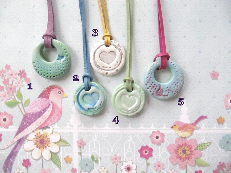 Colliers - Schöne Ketten Love Sommer - ein Designerstück von MIO-O bei DaWanda