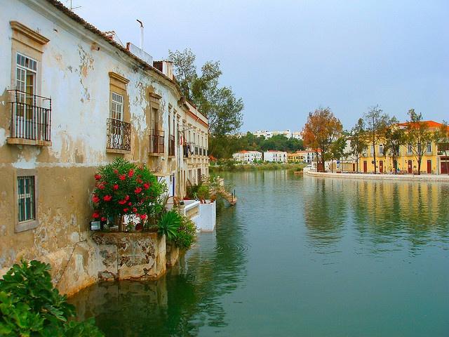 Gilao River -Tavira - Algarve, Portugal