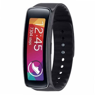 Samsung Galaxy Fit Gear SM-R350 SmartWatch rastreador de ejercicios - Negro