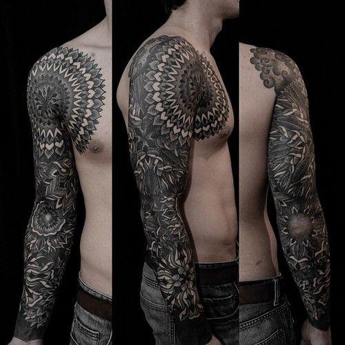 Tattoo men mandala sleeve mandala tattoo design sleeve tattoos for men
