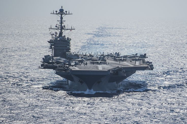 Aircraft carrier USS Harry S. Truman (CVN 75) conducts flight operations from the Mediterranean Sea on June 15, 2016. Harry S. Truman Carrier Strike Group is deployed in support of Operation Inherent Resolve, maritime security operations and theater security cooperation efforts in the U.S. 6th Fleet area of operations. US Navy photo.