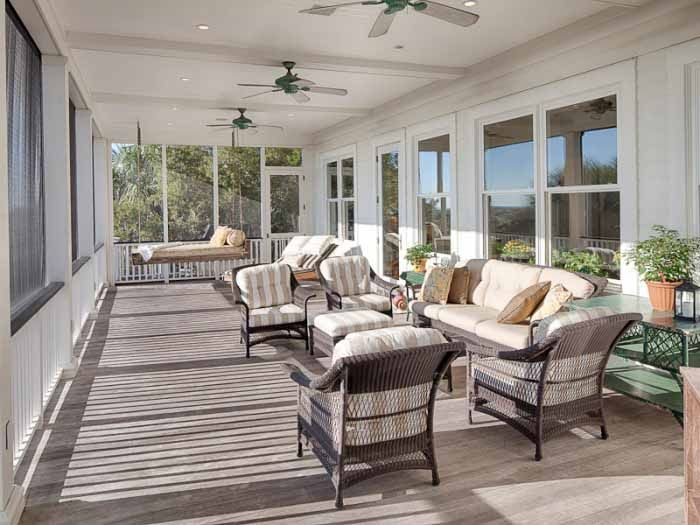 19 best screen porch flooring images on pinterest porch for Beach porch ideas