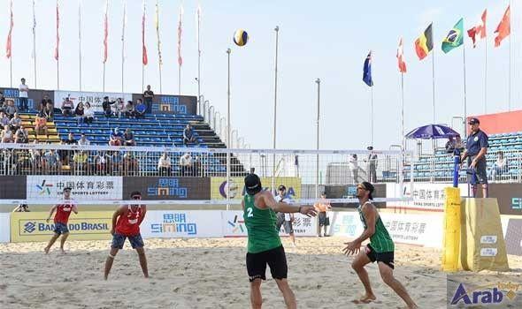 Austria defeats Canada 2-0 at FIVB beach volleyball Xiamen Open
