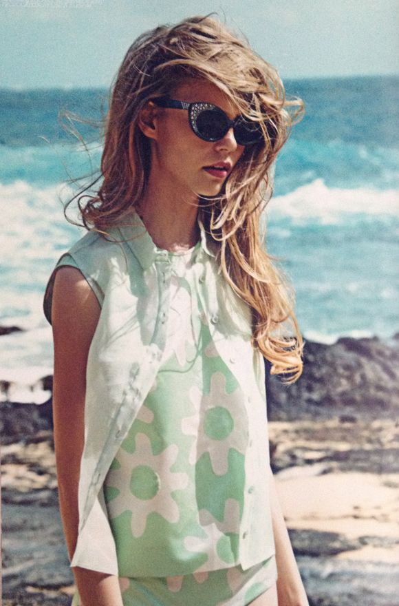 minty breeze: 14 Spring, Cats Eyes, Leith Clark, Vintage Fashion, Lula 14, Clark Editor, Beaches Styles, Beaches Hairs, Lula Magazines