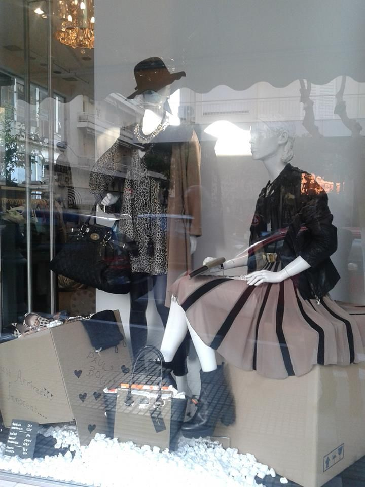my work for Princess -sakes window display