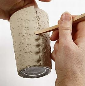 Craft & Creativity: Vases of Self-hardening Clay
