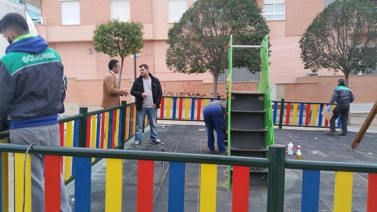 Los parques infantiles de la ciudad estarán arreglados en un plazo de tres meses