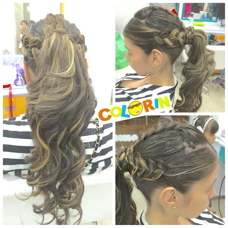 pin hair styles 18 best trenzas colorin para las mamitas images on 4125