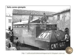 Vehiculos y blindados de la guerra civil española