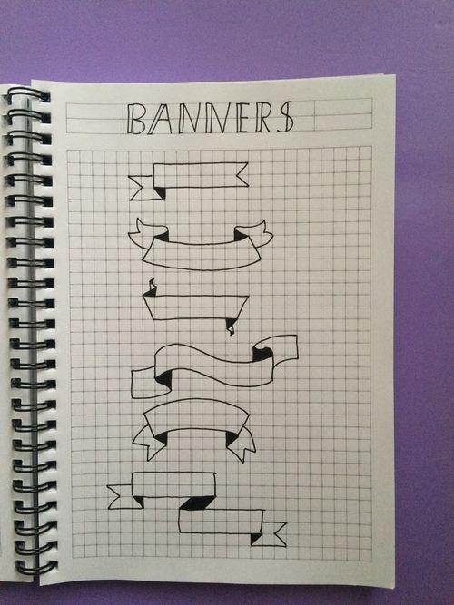 Imagen de banners and studyblr