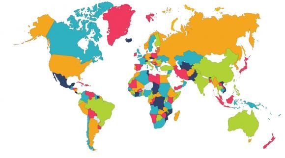 Harta Mondială A Celor Mai Buni Vorbitori De Limba Engleză Locul