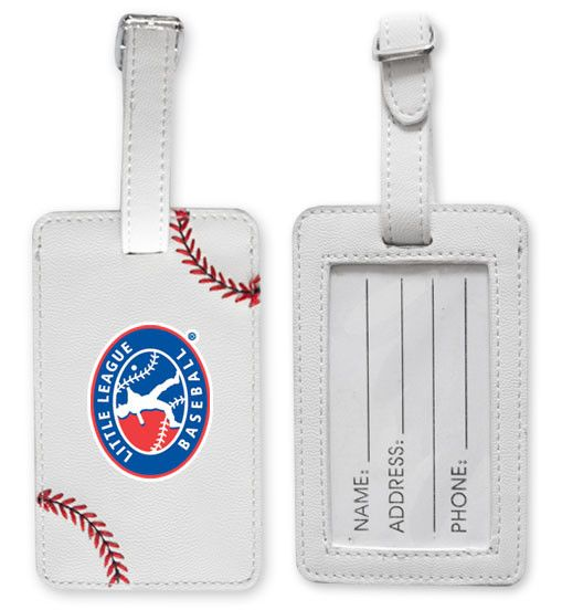 Little League Baseball Luggage Tag