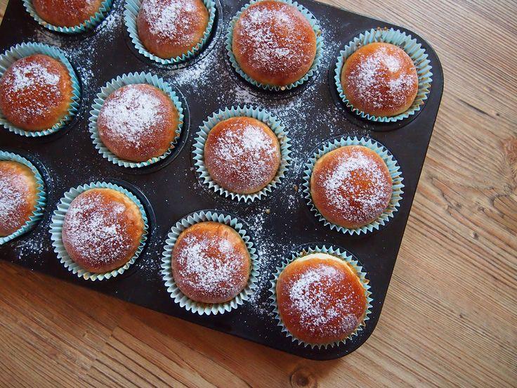 Töltött kalács muffin