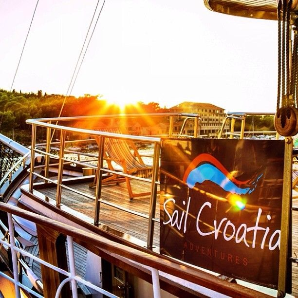 Sunset  #sailcroatia #croatia #sunset