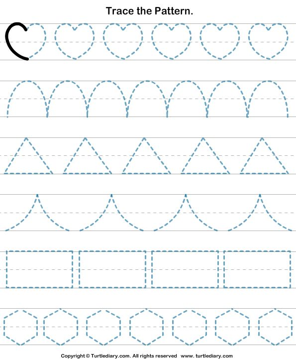 Download and print Turtle Diary's Shapes Tracing worksheet. Our large collection of math worksheets are a great study tool for all ages.