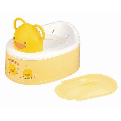 Piyo Piyo Piyo Piyo Two Stage Style Potty in Yellow 830186Y,    #Piyo_Piyo_830186Y