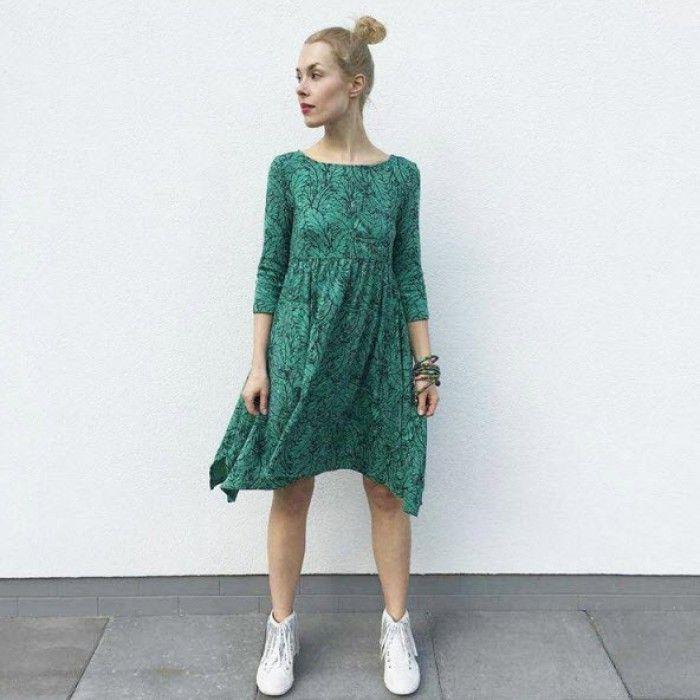 Платье Green Birdie женское