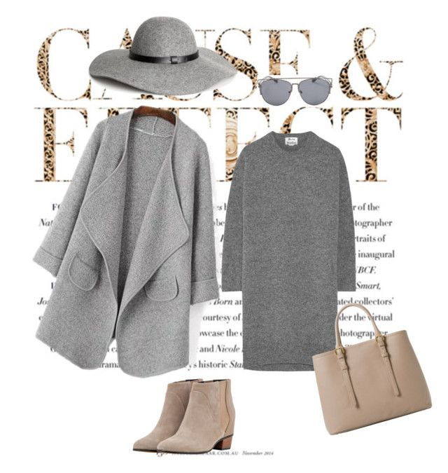 Юля by ksushkay2015 on Polyvore featuring мода, Acne Studios, Augusta, MANGO, H&M and Envi