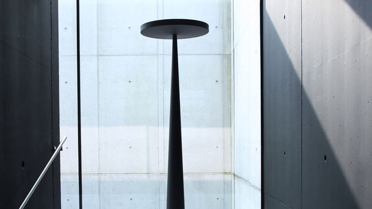 #Equilibre floor lamp, design by Luc Ramael for #Prandina. See more about its intriguing and sculptural shape in this video https://goo.gl/cp6a20