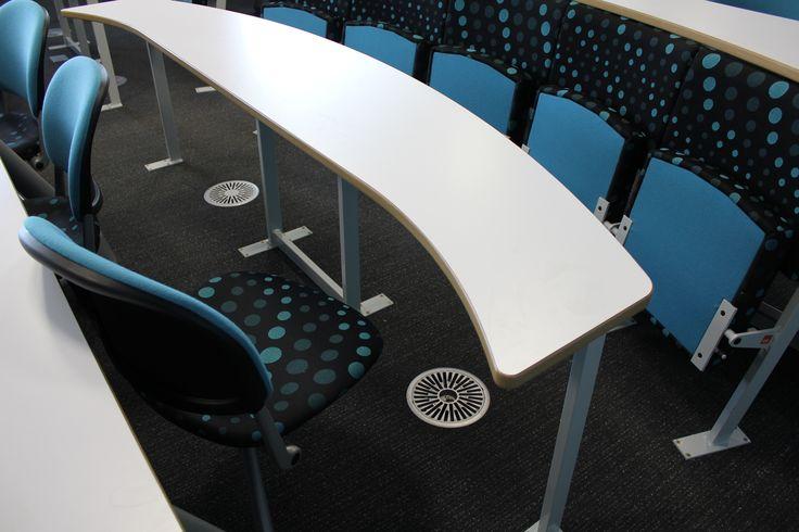 University of Birmingham swivel seated lecture theatre