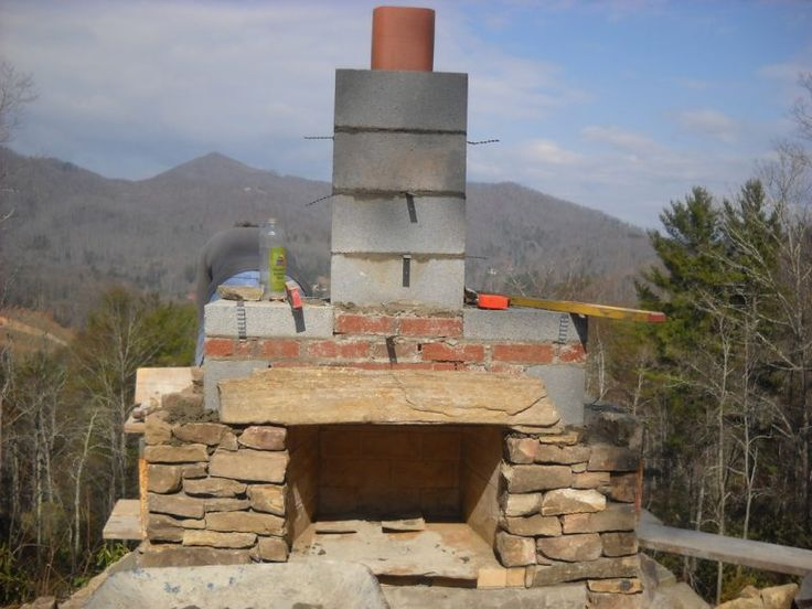 ¡El secreto para poder construir una chimenea al aire ...