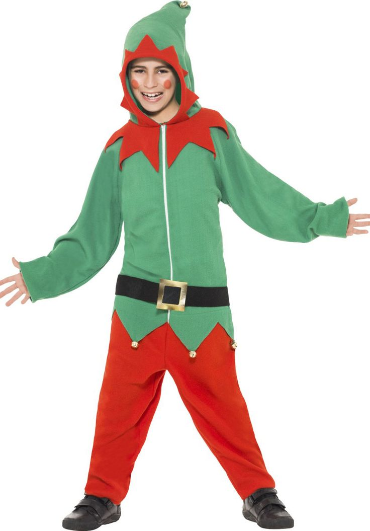 Kids Elf Costume, All in One Elf Fancy Dress - Childrens Christmas Costumes at Escapade™ UK - Escapade Fancy Dress on Twitter: @Escapade_UK