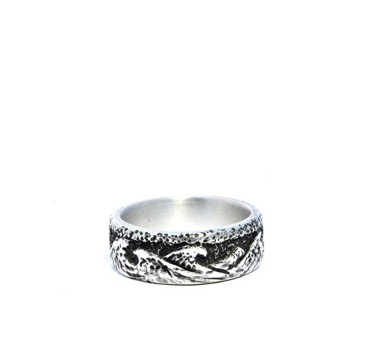 Waves - ring. sterling silver. Jade Pauzé, 2013