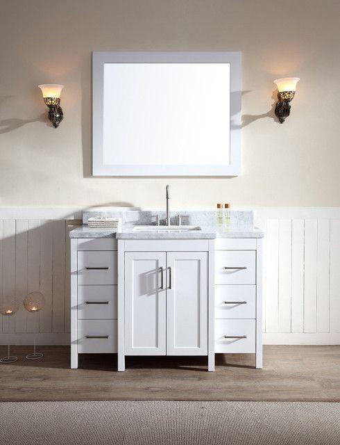 17 Wide Bathroom Vanity: 17 Best Ideas About Single Sink Vanity On Pinterest