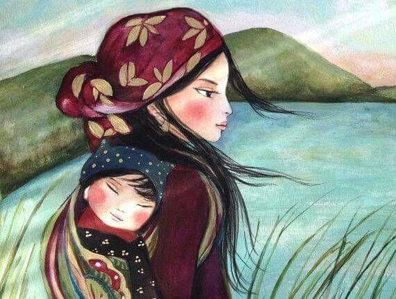 """Les 15 principes de María Montessori pour éduquer des enfants heureux - Aider Son Prochain.  """"Si l'enfant évolue dans un atmosphère où il se sent protégé, intégré, aimé et nécessaire, il apprendra à trouver l'amour dans le monde"""". (*Maria Montessori)"""
