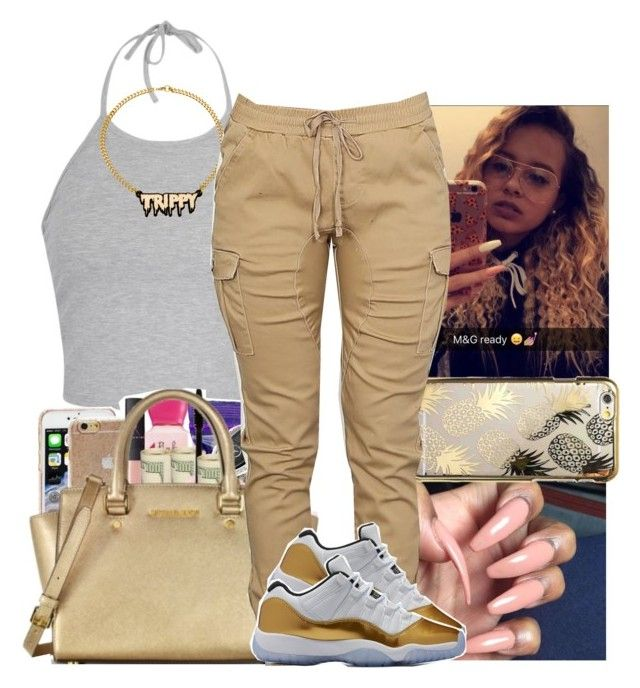"""Rae Sremmurd~Black beatles"" by slayed-fashion ❤ liked on Polyvore featuring Ally Fashion, Melody Ehsani and Skinnydip"