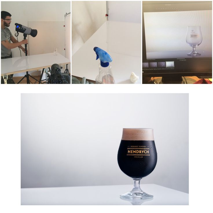 Behind the scenes, jak se fotila limitovaná edice piva Hendrych.