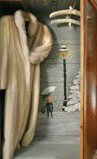 The Spencer Hotel & Spa - Narnia inside the wardrobe....
